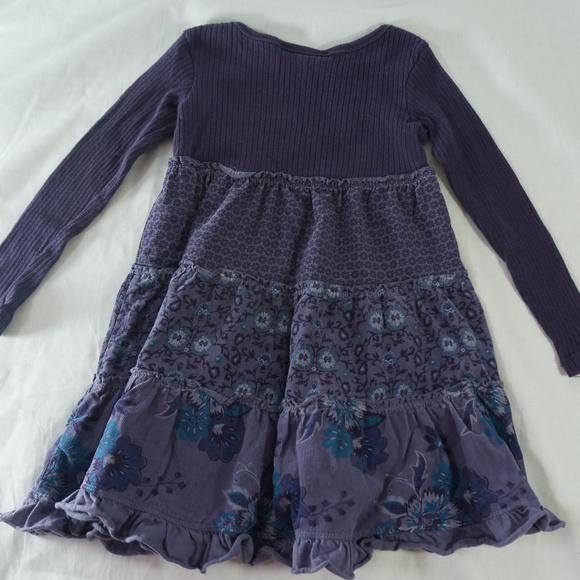 51b366f96 Naartjie Kids 5 Yr Long Sleeve Purple Dress Floral.  M_5b30d748194dadd08fb7ce0f